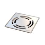 Podna rešetka VIR ISAFLEX - 150x150x1 mm VIR sa inox okvirom (klik klak)