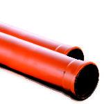 PVC ekološka cev crvena VALDOM - 160x250